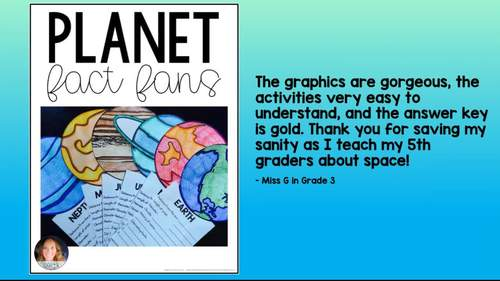 Planet Fact Fans Distance Learning