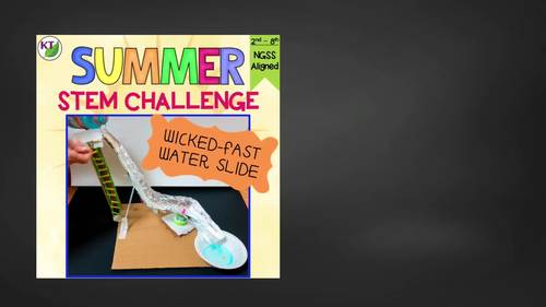 Summer / End of the Year STEM Challenge: Wicked-Fast Water Slide
