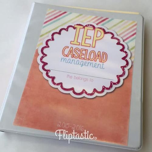 The Ultimate Special Education Binder - Black and White {editable} IEP Binder