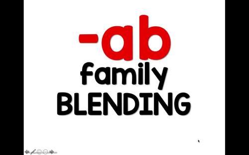 CVC Blending Powerpoint - Short E Word Families