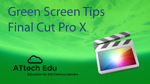 Green Screen with Final Cut Pro