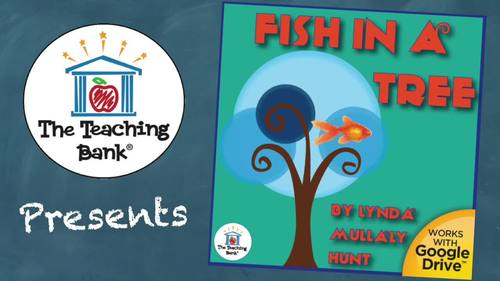 Fish in a Tree Novel Study Book Unit Distance Learning