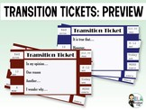 Transitions: Transition Ticket Video Preview