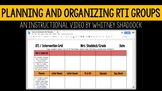 RTI Planning Guide Video