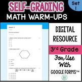 Self-Grading and Self-Checking Morning Work using Google Forms