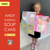 Distance Learning Video: Andy Warhol Pop Art Soup Can Project