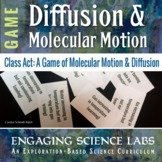 Diffusion Game—Molecular Motion & Change of State—Video &