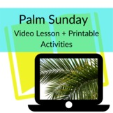 Palm Sunday Video Object Lesson + Printables