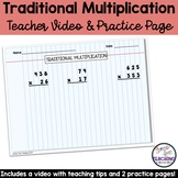 Traditional Multiplication