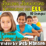 Building Background Knowledge for ELLs: 10 research-based