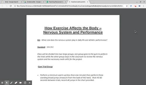 How Exercise Impacts the Body - Nervous System and Athletic Performance