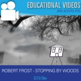 "ELA Poetry ""Stopping by Woods on a Snowy Evening"" Video &"
