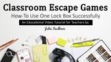 How To: Using One Lock Box for Your Classroom Escape Game,