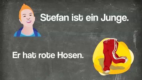 Die hässlichen Hosen - a Comprehensible Input lesson for German learners