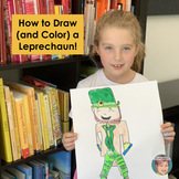 Teaching Video: How to Draw a Leprechaun  An Easy St. Patr