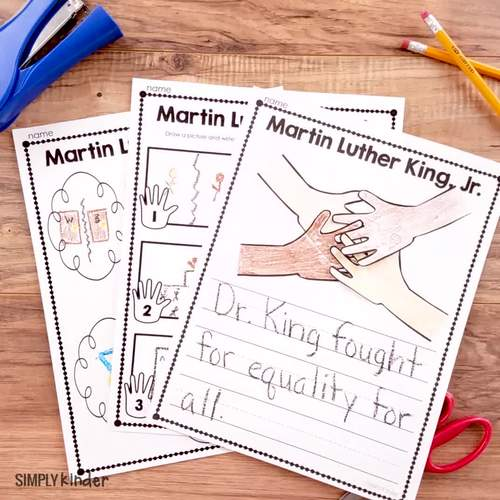 Martin Luther King Jr Craft and Story