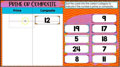 4th Grade Math Sorts - Digital Math Sorts Included for Distance Learning