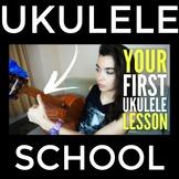 Your FIRST Ukulele Lesson (Ukulele Beginner Lesson By A Mu