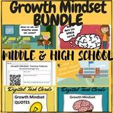 Growth Mindset Challenge Bundle - MIDDLE & HIGH SCHOOL