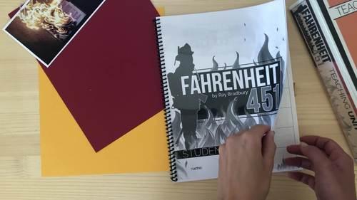 Fahrenheit 451 by Ray Bradbury: Student WORKBOOKS