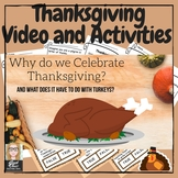 November Thanksgiving Video & Activities (The First Thanksgiving)