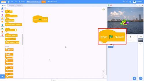 Scratch Tutorial Video: Loops & If-Then Blocks