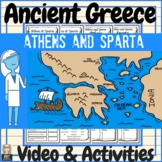 Ancient Greece Athens & Sparta Video and Activities!