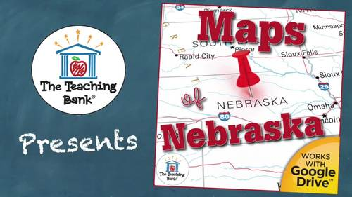 Nebraska State Study Maps Unit Distance Learning