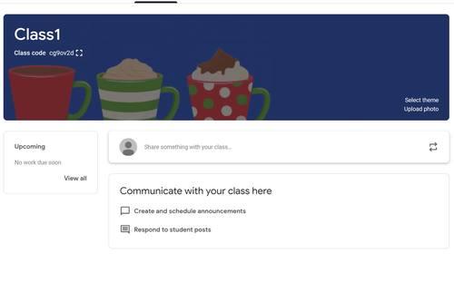 Google Classroom Animated Header (Holiday Cheer!)