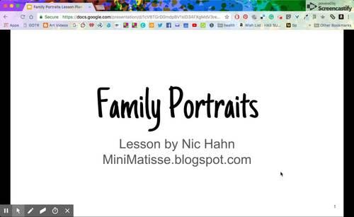 Family Portrait Lesson Plan