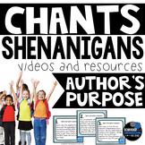 Chants | Author's Purpose