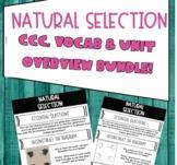 Natural Selection Crosscutting Concepts, Vocab + Unit Over