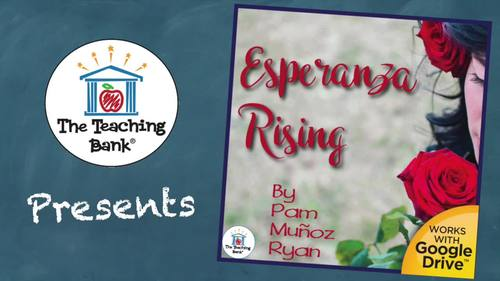 Esperanza Rising Novel Study Book Unit Distance Learning