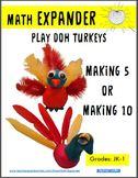 Thanksgiving Turkey Craft - Making 5 and 10