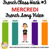 """3 French Class Transition Video """"Wednesday"""" for CI TPRS an"""
