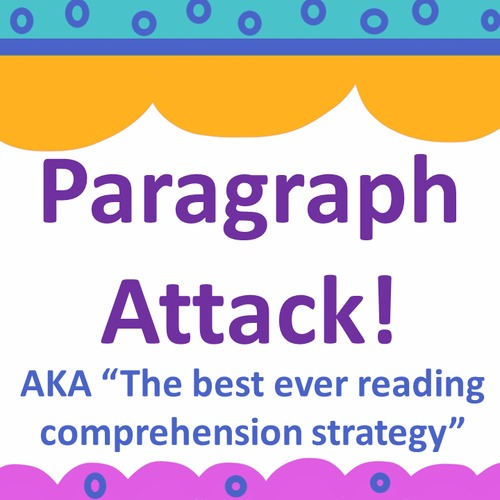 Test Prep Reading Strategy for Assessments {AKA Paragraph Attack}