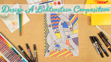 Roy Lichtenstein Pop Art Project, Roll-A-Dice Game, & Art