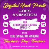 Returning to School  - Digital Foot Prints Goes Animation