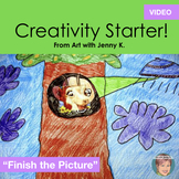 Distance Learning Teaching Video: Creativity Starter - Fin