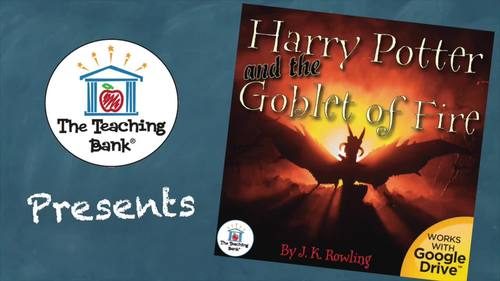 Harry Potter and the Goblet of Fire Novel Study Book Unit