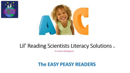 Easy Peasy Decodable Reader - The Case of the Missing Bicycle (OG)