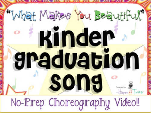 """Choreography VIDEO for """"What Makes You Beautiful"""" Kinder graduation song"""
