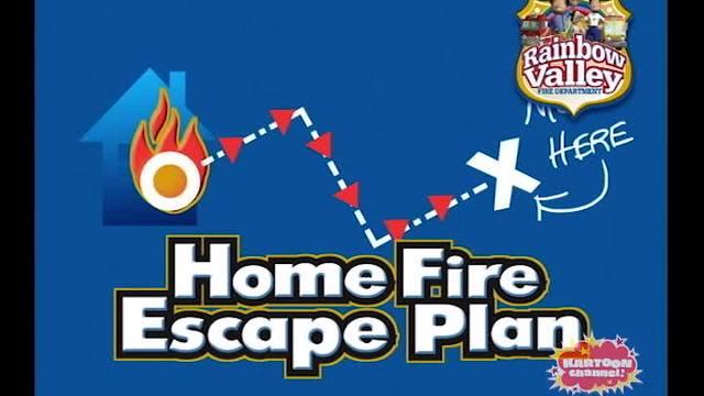 Home Fire Escape Plan
