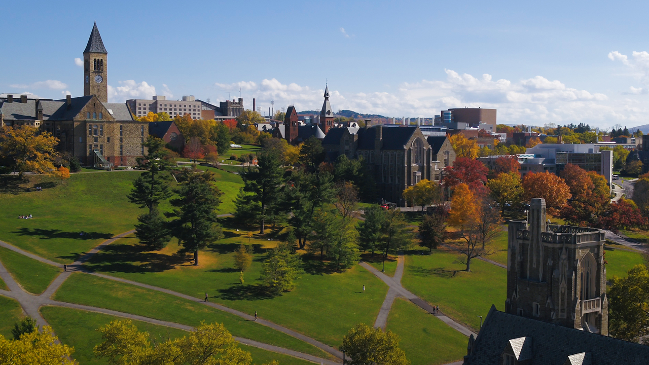 View of the Ithaca campus