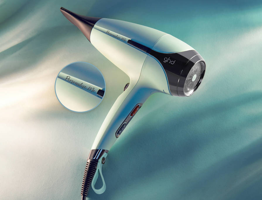 Free personalisation on all helios hair dryers