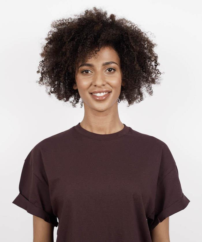 NATURAL CURL DIFFUSED DRY