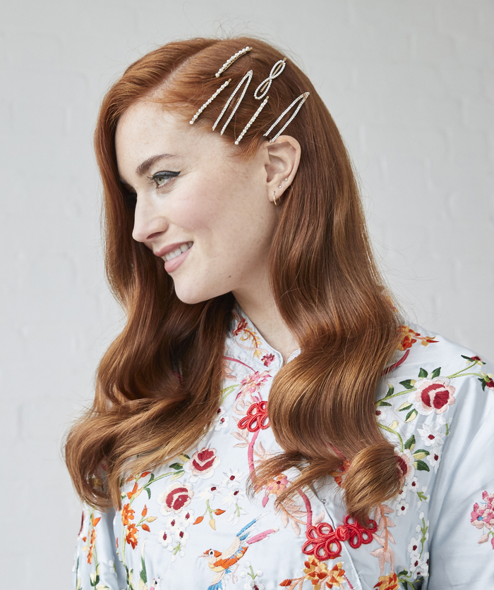 Adorned Hollywood Waves