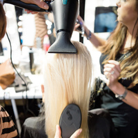BACKSTAGE WITH GHD PPQ SS14