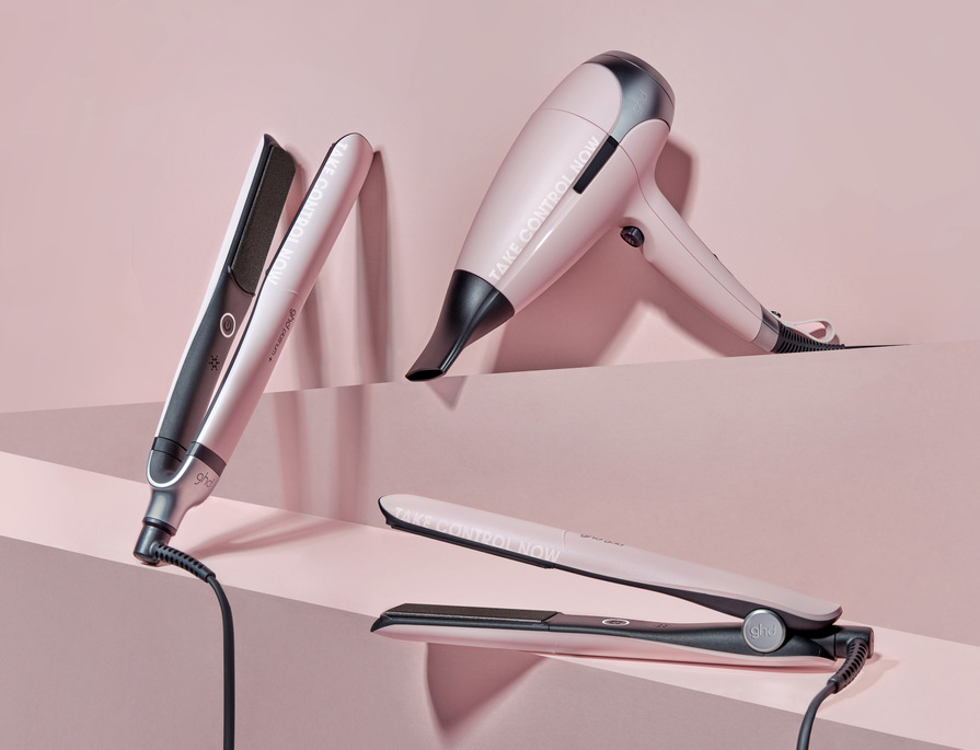 GHD POWDER PINK COLLECTION