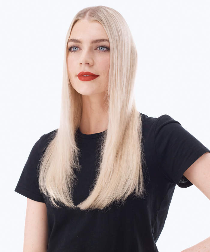 STRAIGHT HAIR IN 2 MINUTES